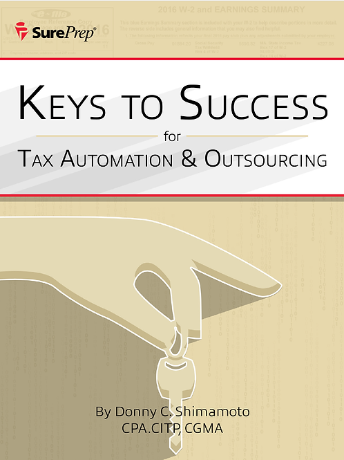 Keys to Success for Tax Automation & Outsourcing (whitepaper)