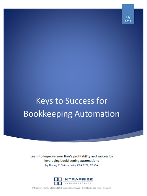 Keys to Success in Bookkeeping Automation (whitepaper)