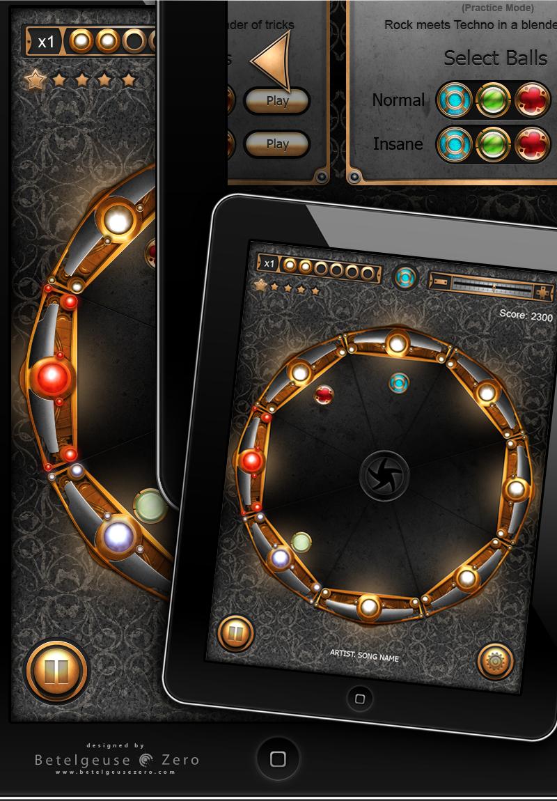 Puzzle Game App UI design