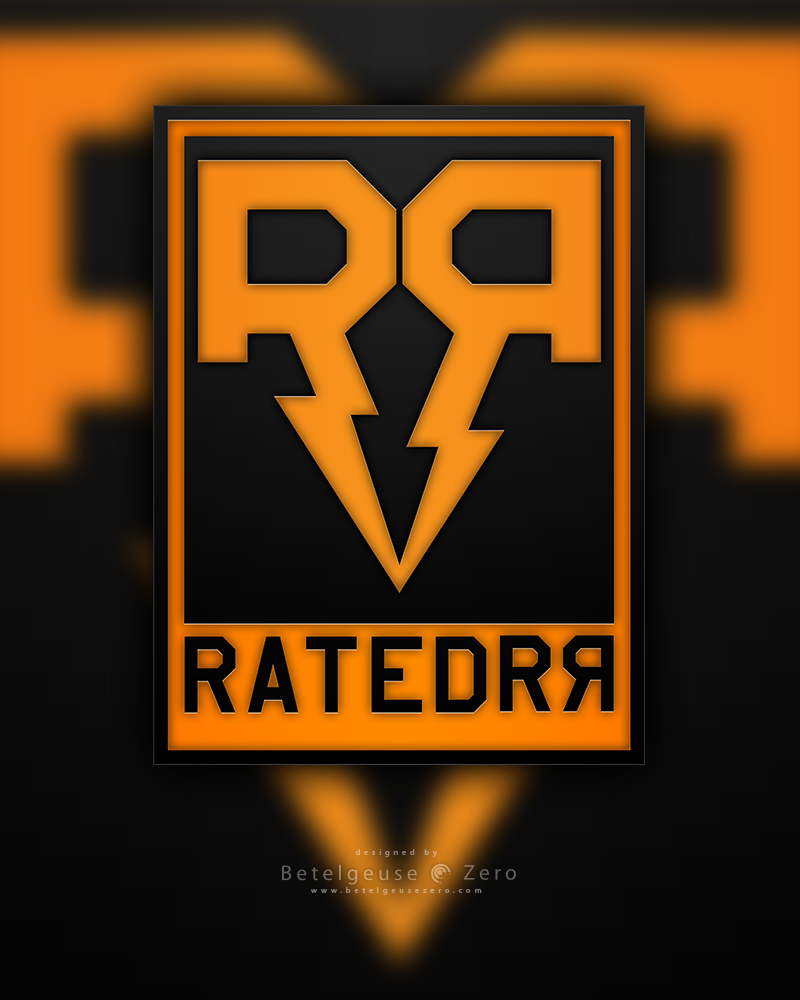 RatedRR Logo design