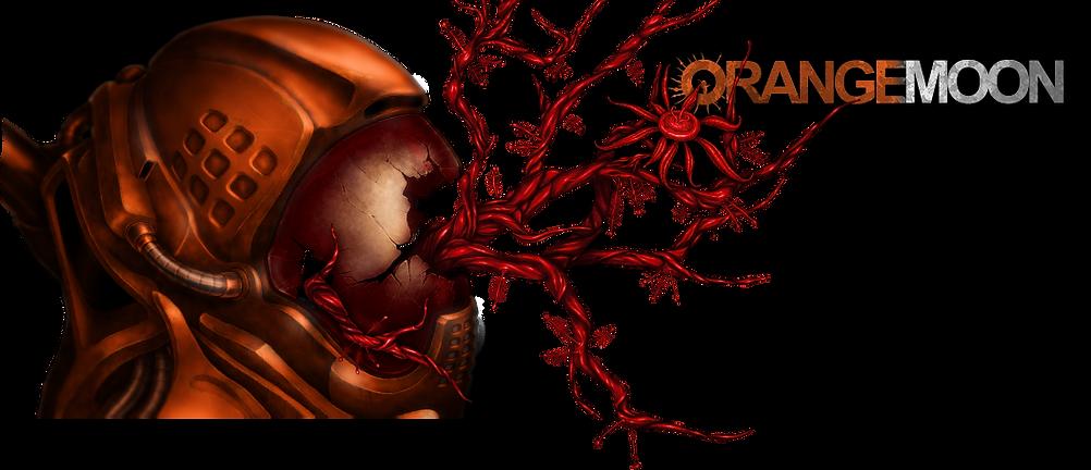 Orange Moon game dead astronaut