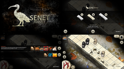 Senet Priests board game