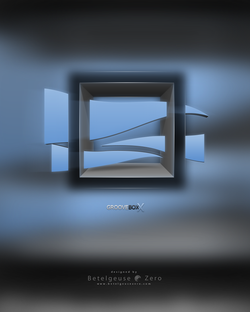 Groove Boxx logo design
