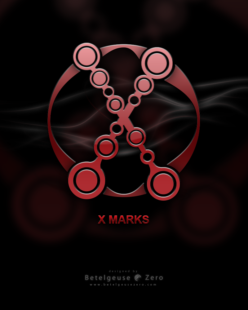 X-Marks Logo Design