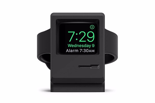 Base Carregadora Preta Fosca Elago W3 Stand Para Apple Watch