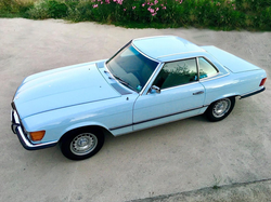 Blue Mercedes