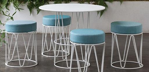Lagarto Mini Stools w Table.jpg