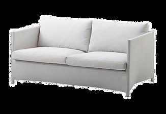 Diamond 2 Seat Sofa White White.png