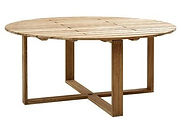 cane line endless dining table 67 dia.jp