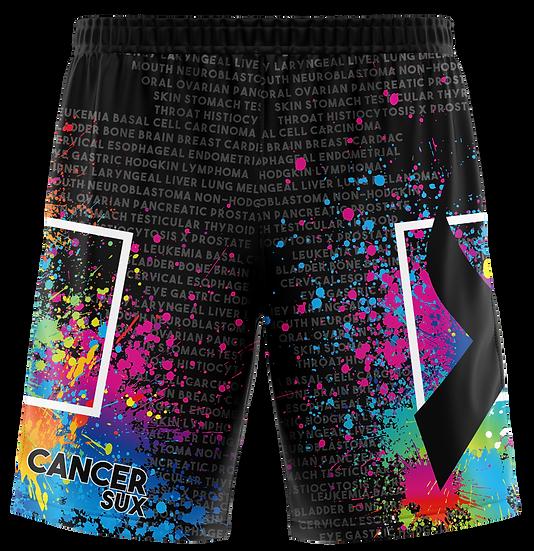 2021 Blackout Cancer Sux Shorts