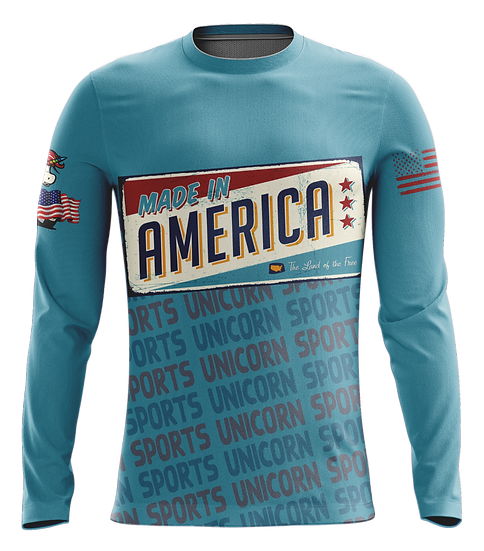 Blue America Long Sleeve