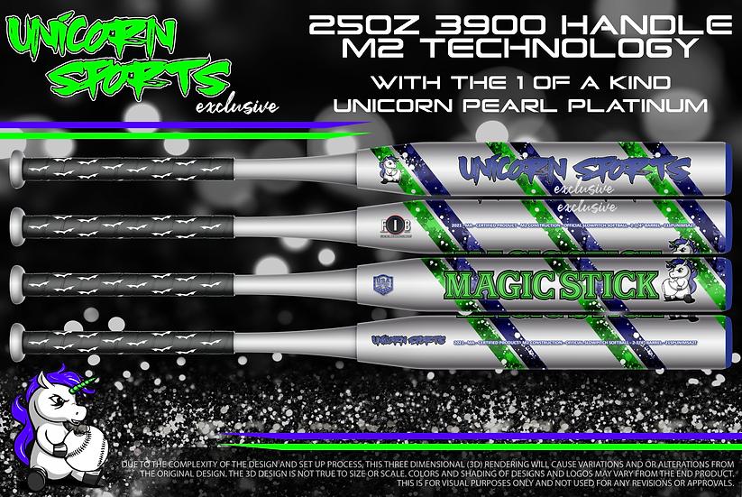 "2021 Unicorn Pearl Platinum ""Magic Stick"" Blue/Green"