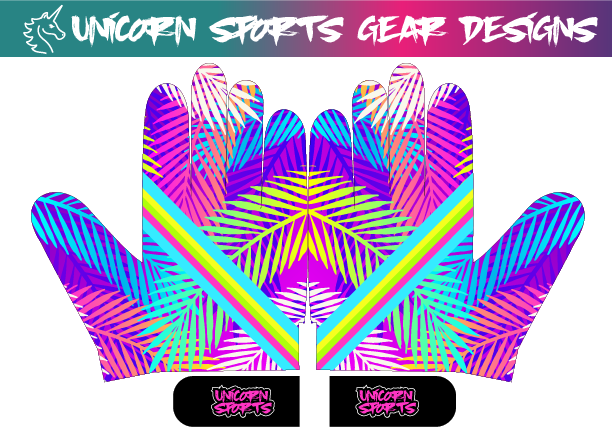 2021 Tropical Batting Gloves