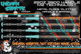 "2021 Unicorn Sports ""Magic Stick"" Blue/Orange"