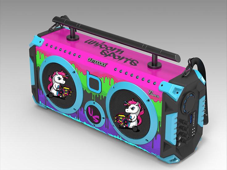 Unicorn Bumpboxx Speaker Sticker