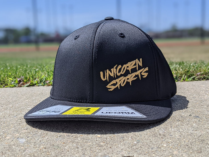Black n' Gold Unicorn Hat