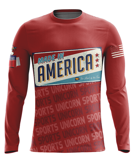 Red America Long Sleeve