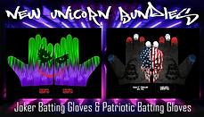 Joker + Patriotic Batting Gloves