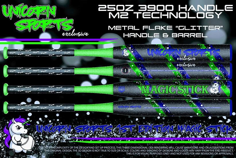 "2021 Unicorn Sports ""Magic Stick"" Green/Blue"