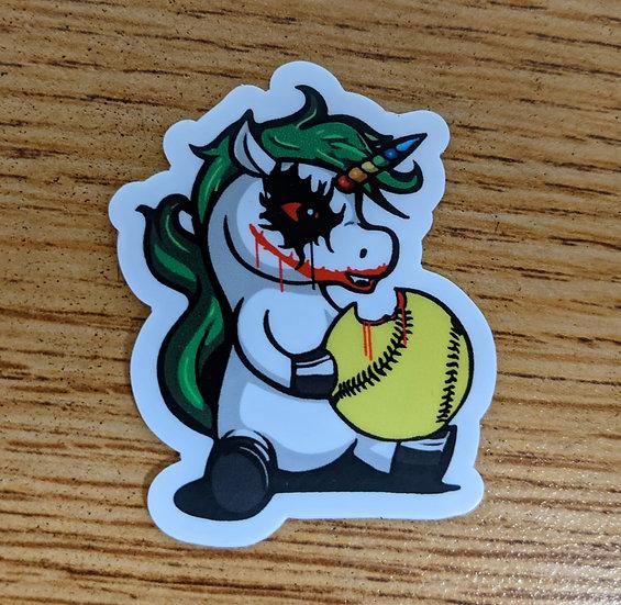 Joker Unicorn Stickers