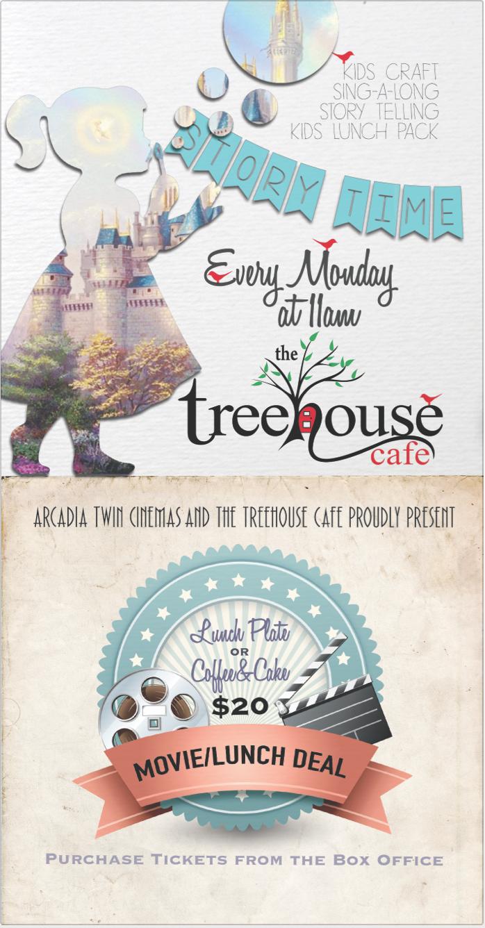 The Treehouse Cafe DL Flyer