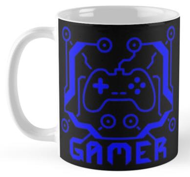 Blue Circuit Gamer