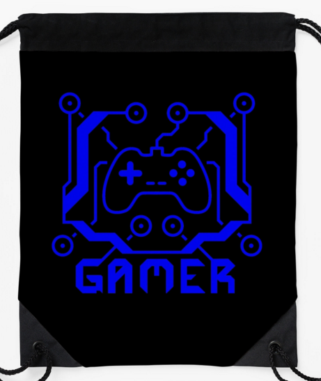 Blue Circuit Gamer