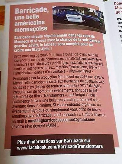 Article Ville Mennecy