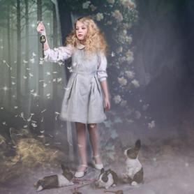 Alice in Wonderland fashion shoot.