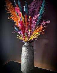 Rainbow dried florals by Cassandra King Immortal Botanica