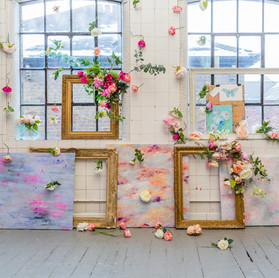 Fabrics inspired by florals and art.  Cassandra King.