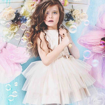Styling and Flowers for SS17 Child fashion shoot