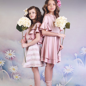 Giant faux hydranga.  Campaign LW18.  Cassandra King Flowers and Styling.