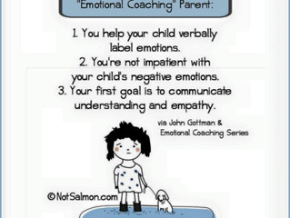 What Does it Mean to Be An Emotional Coaching Parent?