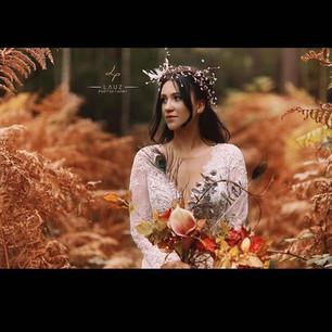 Autumn Immortal Botanica by Cassandra King.