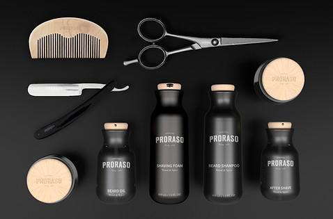 Packaging Proraso