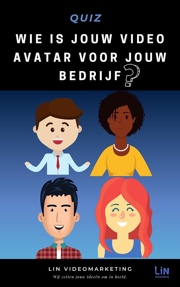 QUIZ_ Wie is jouw Video Avatar voor jouw