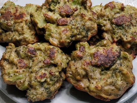 Beignets de brocolis au four