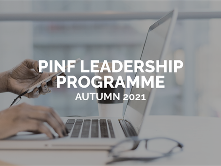PINF Leadership Programme – Autumn 2021