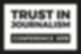 Trust in Journalism Conference 2019 Logo