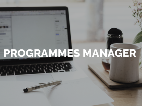 PINF is looking for a Programmes Manager
