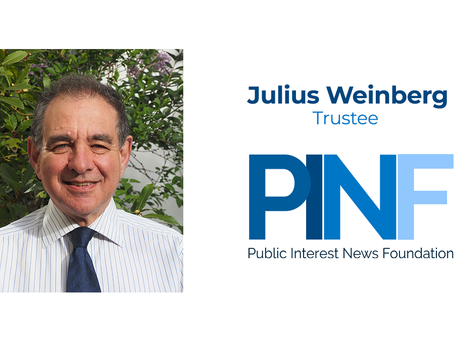 Julius Weinberg, Chair of Ofsted, joins the Public Interest News Foundation