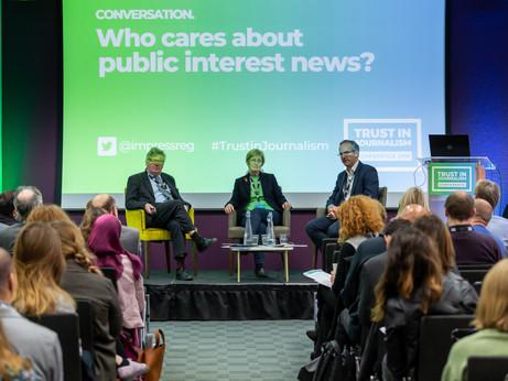 CONVERSATION | 'Who cares about public interest news?'
