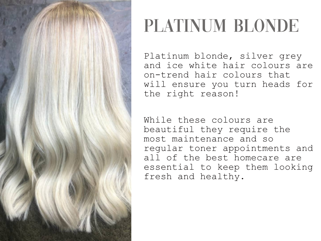 PLATINUM BLOND