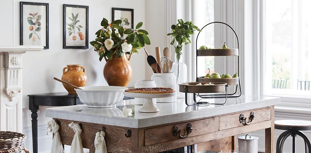 French country provincial kitchen