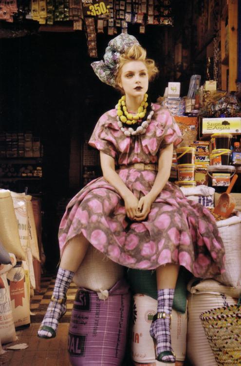 Jessica Stam Vogue UK Markets Declutter Clean Sell