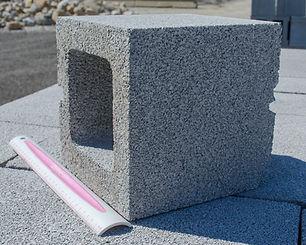 8 x 8 x 8 Hollow Corner Cement Block Akron Ohio