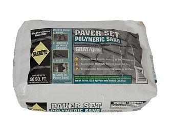 Polymeric Sand Paver Set Gray