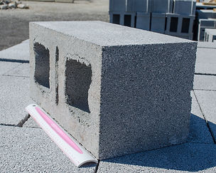 8 x 8 x 16 Double Corner Cement Block Akron Ohio