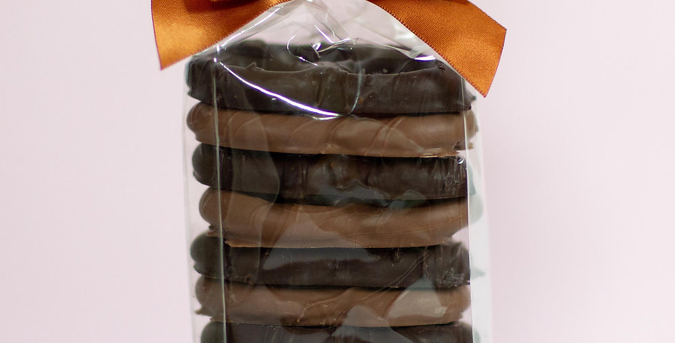 Chocolate Dipped Pretzels - 10 Pack